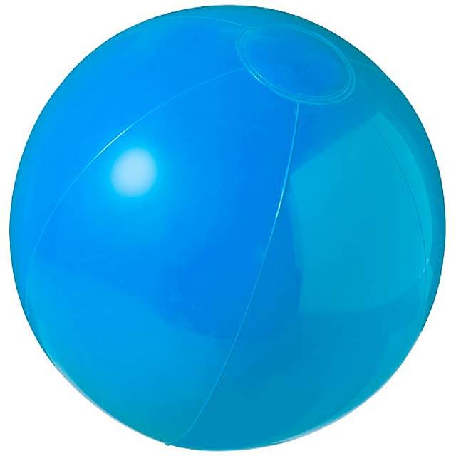 Neprůhledný plážový míč Bahamas - modrá
