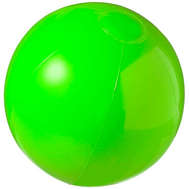 Neprůhledný plážový míč Bahamas - zelená