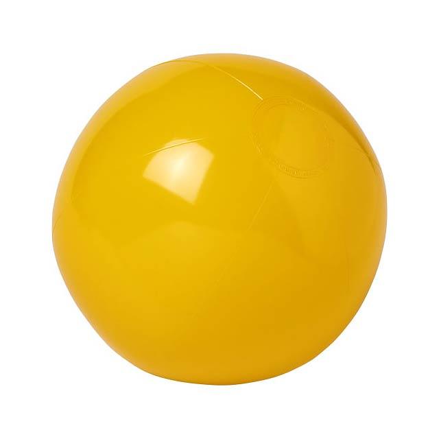 Neprůhledný plážový míč Bahamas - žlutá