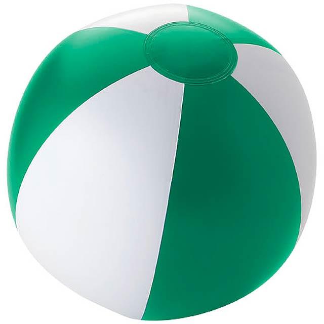 Pevný plážový míč Palma - zelená