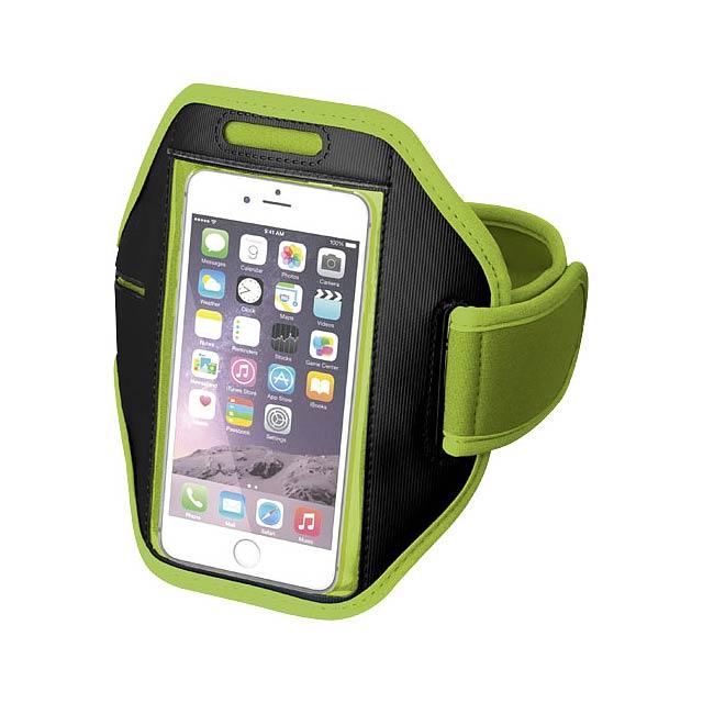 Pažní páska Gofax s dotekovou folií pro chytrý telefon - citrónová - limetková