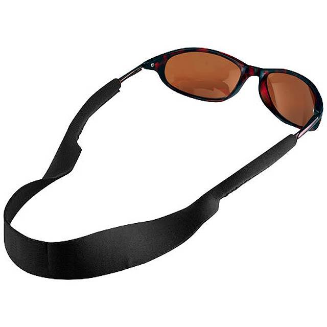 Tropics sunglasses strap - black