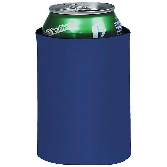 Skládací termoobal na nápoje Crowdio - královsky modrá