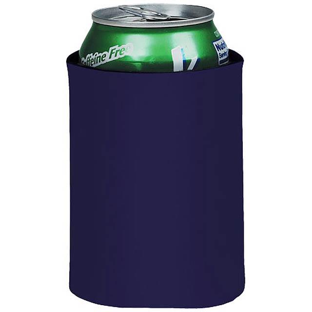 Skládací termoobal na nápoje Crowdio - modrá
