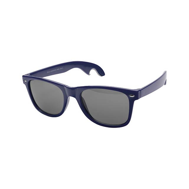 Sun Ray sunglasses with bottle opener - modrá