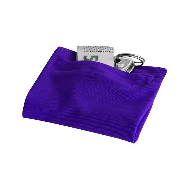 Zápěstník Squat na zip - fialová