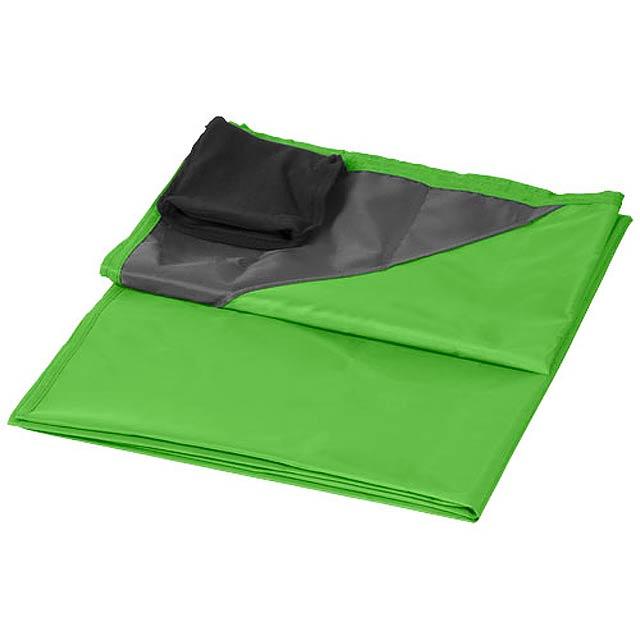 Voděodolná venkovní deka na piknik Stow-and-go - citrónová - limetková