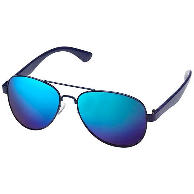 Zrcadlové sluneční brýle - modrá