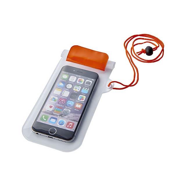 Vodotěsné pouzdro na chytrý telefon Mambo - oranžová