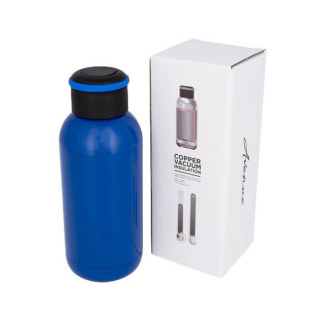 Copa mini termoska s měděnou, vakuovou izolací - modrá