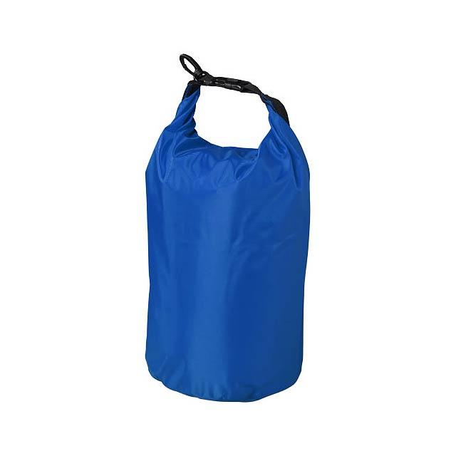 Nepromokavý vak Camper, 10 l, outdoorový styl - modrá