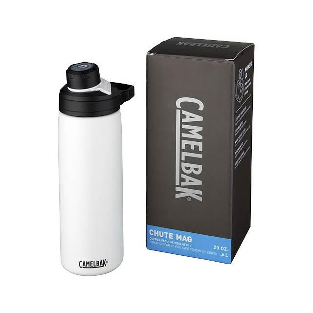 Měděná láhev Chute Mag 600 ml s vakuovou izolací - bílá