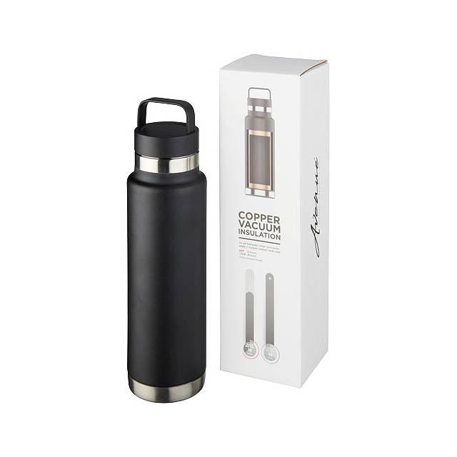 Colton 600 ml sportovní lahev s vakuovo-měděnou izolací - černá