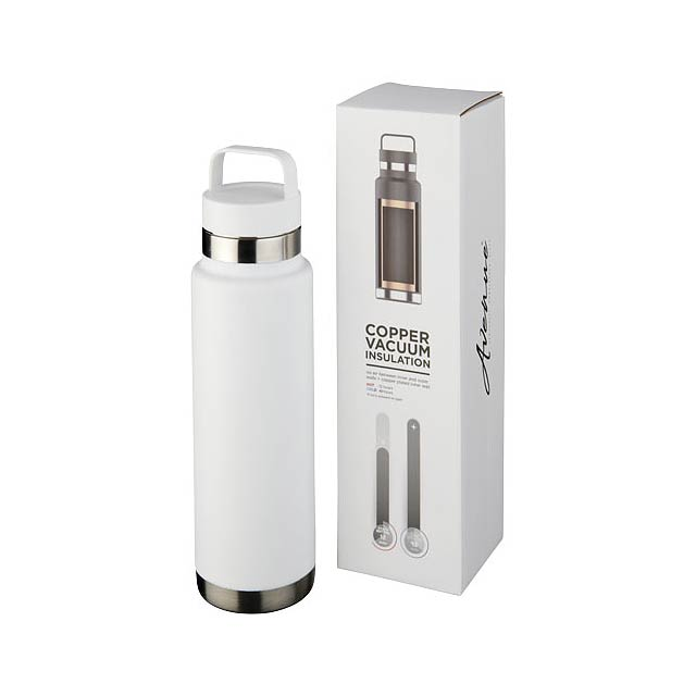 Colton 600 ml sportovní lahev s vakuovo-měděnou izolací - bílá