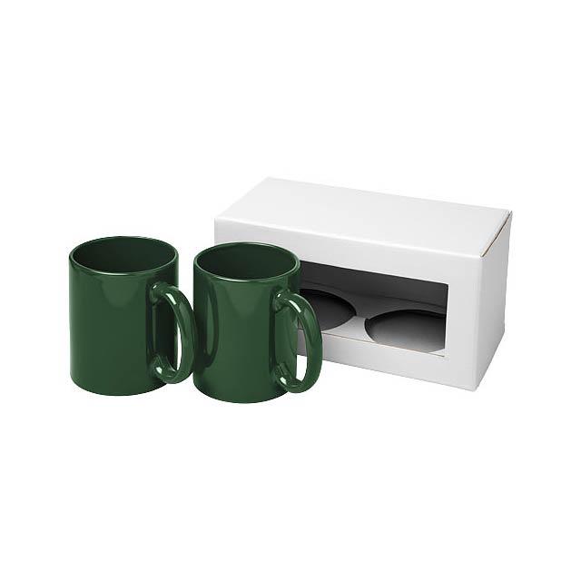 Dárková sada dvou hrnků Ceramic - zelená