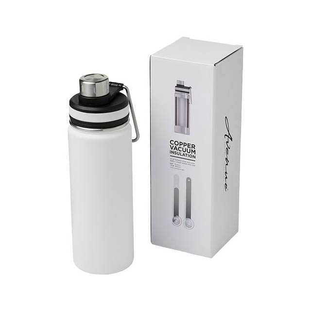 Gessi 590 ml sportovní lahev s vakuovo-měděnou izolací - bílá