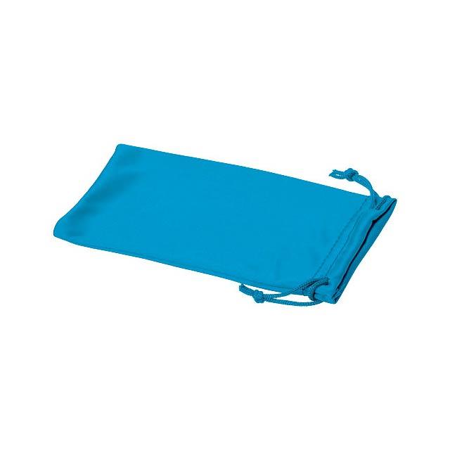 Clean sáček z mikrovláken na sluneční brýle - modrá