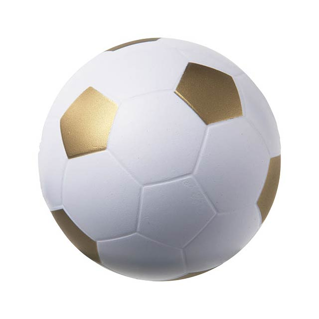 Antistresový míč Football - bílá
