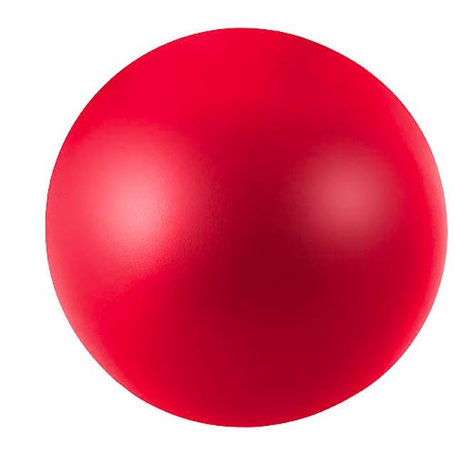 Antistresový míč Cool - červená