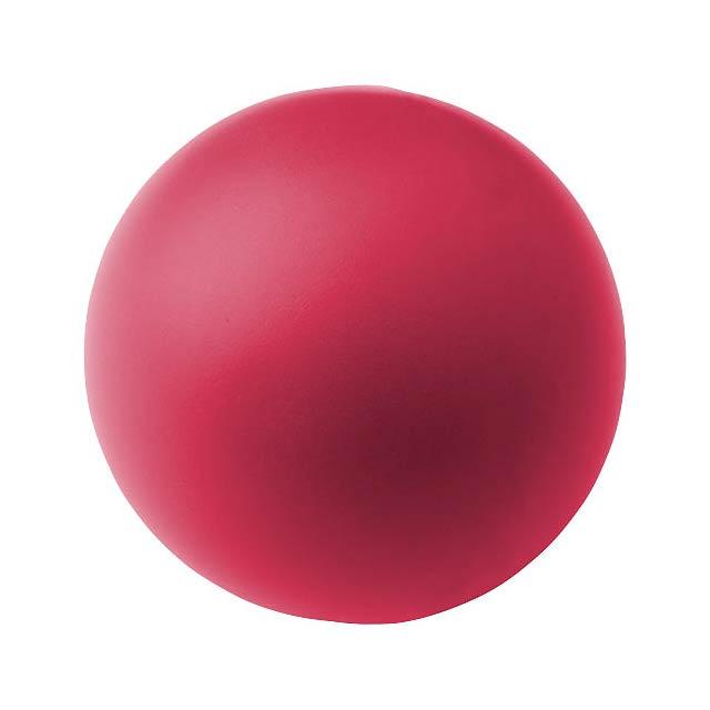 Antistresový míč Cool - fuchsiová (tm. růžová)