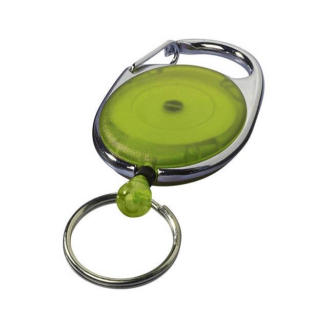 Klíčenka Gerlos s držákem na jmenovku - citrónová - limetková