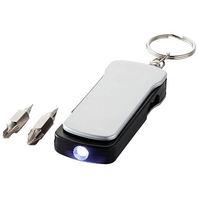 Klíčenka multifunkční nástroj - stříbrná