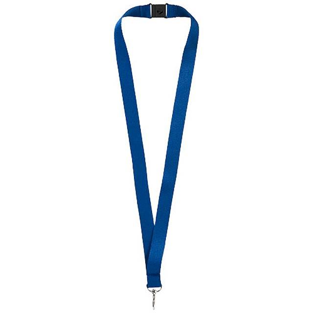 Šnůrka na krk - modrá