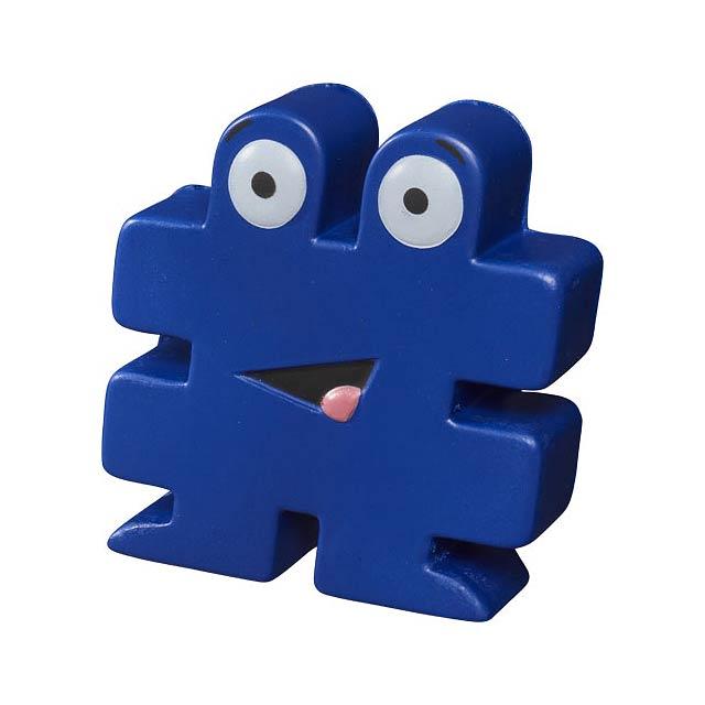 Antistresová pomůcka Hashtag - modrá