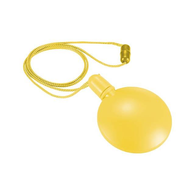 Kulatý bublifuk Blubber - žlutá