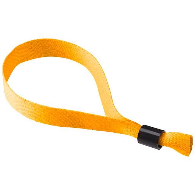 Taggy Armband mit Sicherheitsschloss - Orange