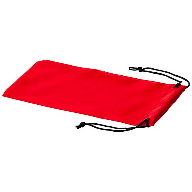 Sagol sunglasses pouch - red