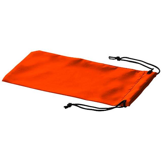 Pouzdro na sluneční brýle Sagol - oranžová