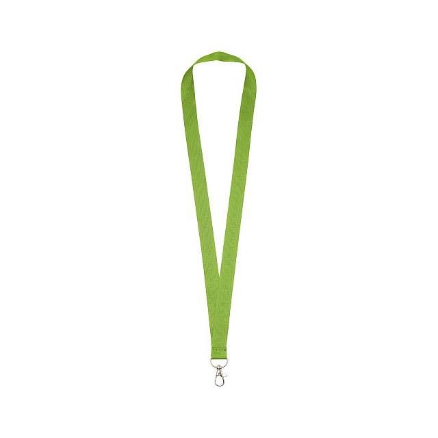 Lanyard Impey s praktickým háčkem - citrónová - limetková