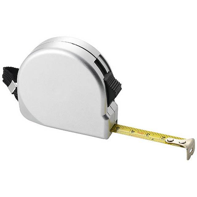 Měřicí pásmo Clark, 3 m - stříbrná