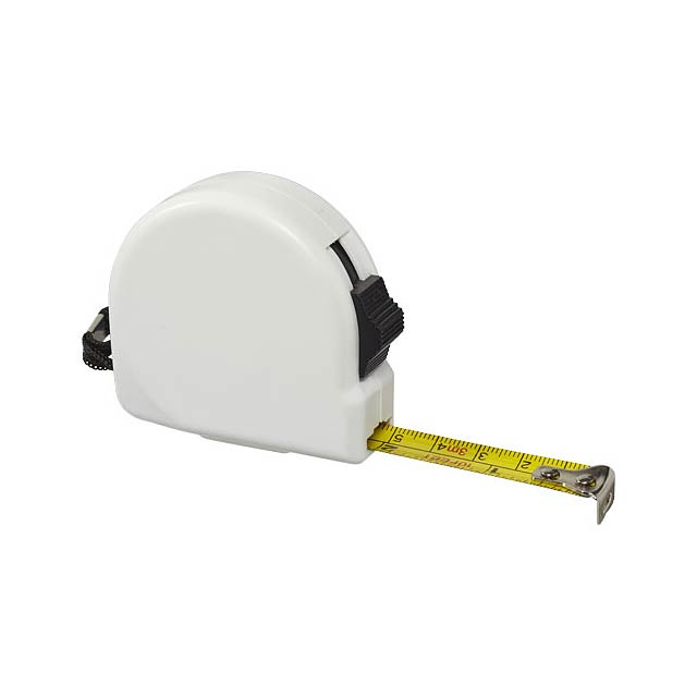 Měřicí pásmo Clark, 3 m - bílá