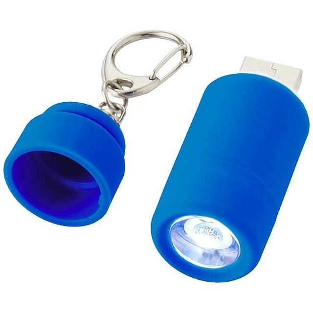 kľúčenka minibaterka - modrá 9a8be38d6af