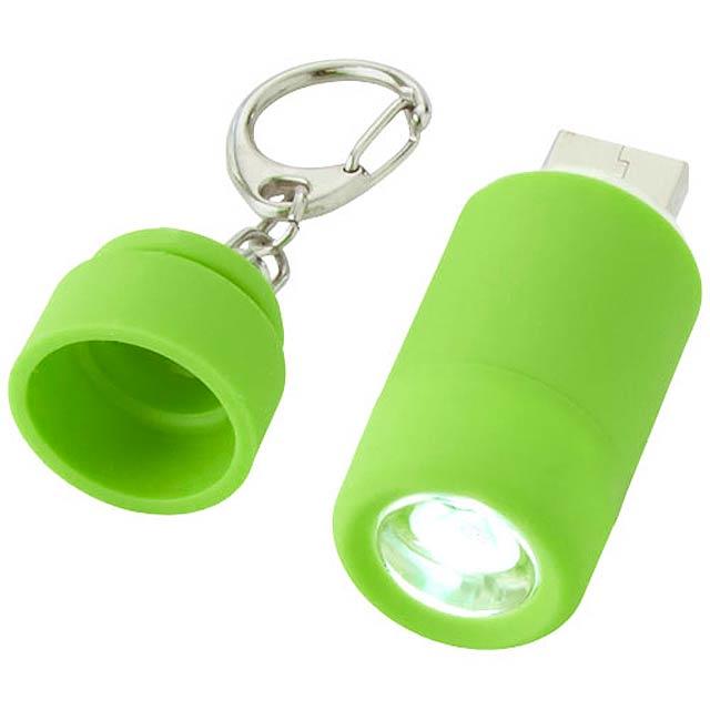 kľúčenka minibaterka - zelená c5d07cef772