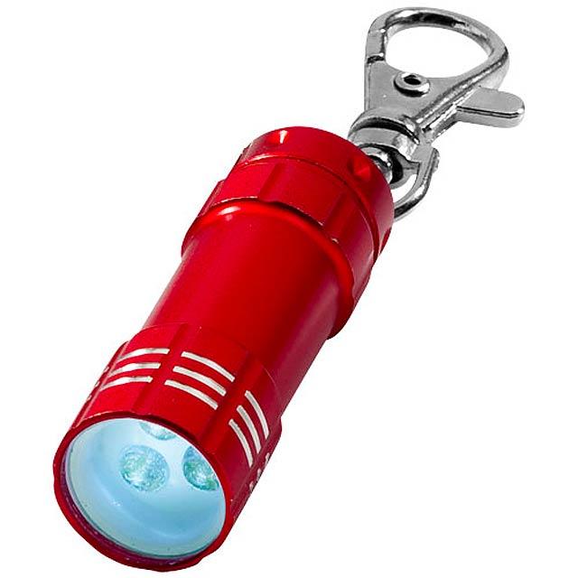 Klíčenková LED svítilna Astro - červená