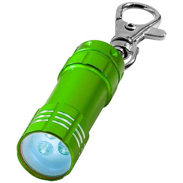 Klíčenková LED svítilna Astro - zelená