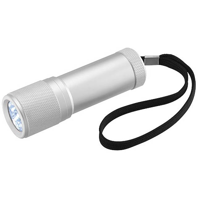 LED minisvítilna Mars - stříbrná