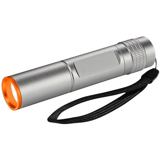 Vodotěsná CREE LED svítilna Insel, 3 W - černá