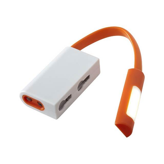 COB a LED svítilna Libra - oranžová