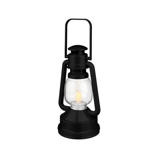 LED lucerna Emerald - černá