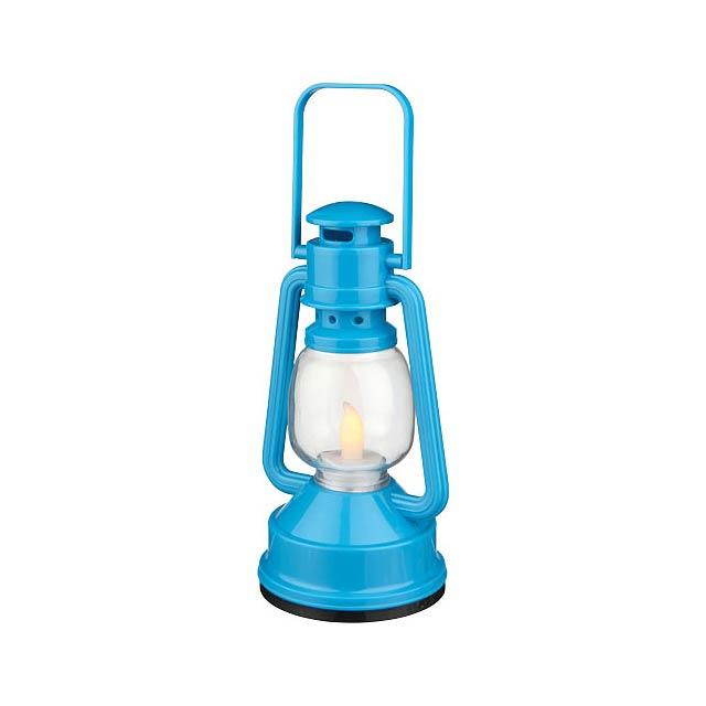 LED lucerna Emerald - modrá