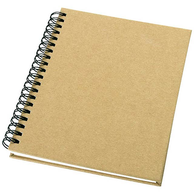 Recyklovaný zápisník Mendel - béžová