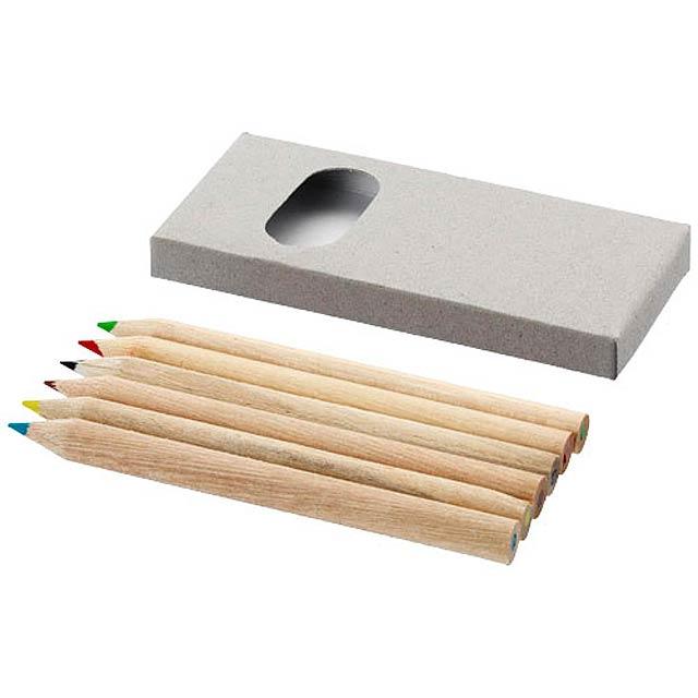 pastelky - drevo