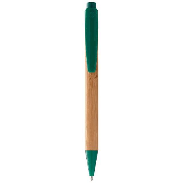Bamboo guličkové pero - zelená