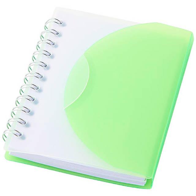 Zápisník A7 Post - zelená