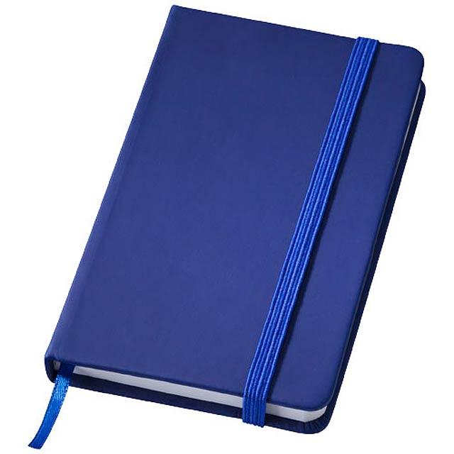 Poznámkový blok Rainbow S - modrá