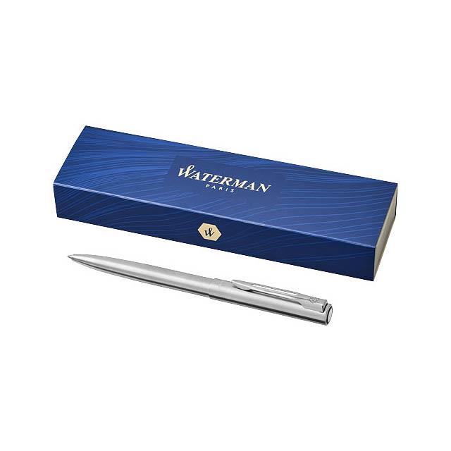 Graduate kuličkové pero - stříbrná lesk